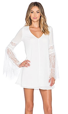 L*SPACE Burning Sun Tunic in Ivory