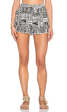 L*SPACE Ivory Coast Short in Black