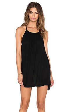 L*SPACE Solarium Tunic in Black