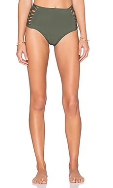 Tigress Bikini Bottom in Fern