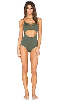 L*SPACE Madi One Piece Swimsuit in Fern