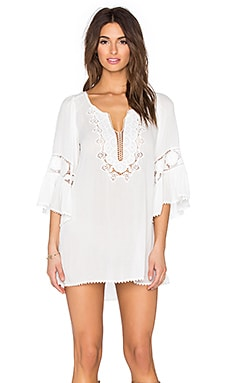 Breakaway Mini Dress in Ivory