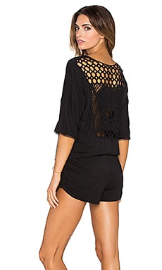 L*SPACE Siren Romper in Black