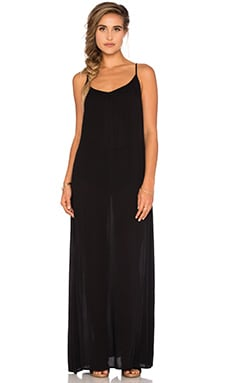 L*SPACE Moonlight Maxi Dress in Black