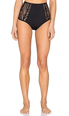 L*SPACE Valentina Bikini Bottom in Black