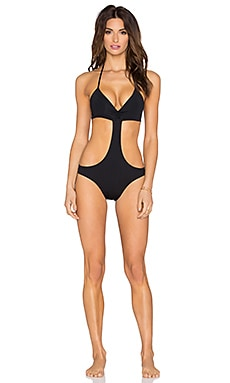Luna One Piece Swimsuit in Black