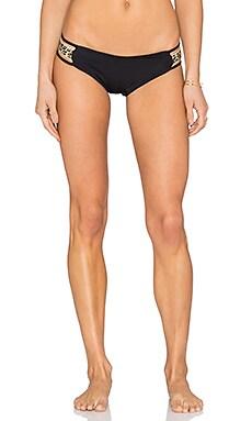 L*SPACE Native Bikini Bottom in Black