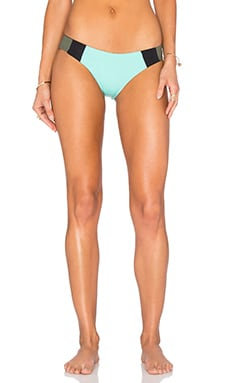 Mia Reversible Bikini Bottom in Pool