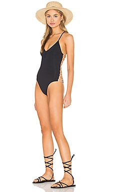 Wild Side One Piece in Black