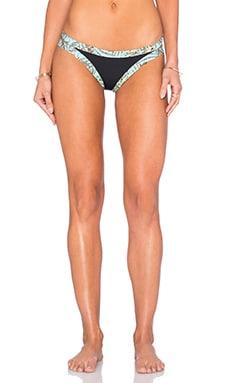 L*SPACE Charlie Bikini Bottom in Black