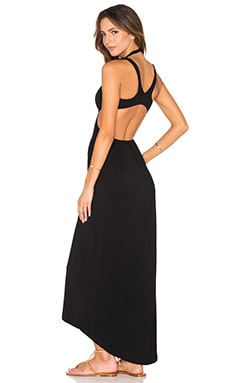 L*SPACE Wild Love Maxi Dress in Black