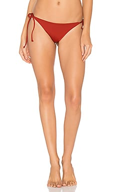 Lilly Itsy Bikini Bottom in Redwood