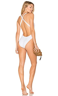 Flash One Piece in White