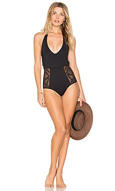 Fireside Cheeky One Piece in Black