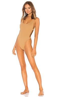 Купить Слитный купальник mayra - L*SPACE, Слитные купальники, США, Цвет загара