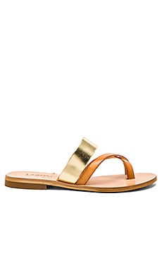 L*SPACE Iris Sandal in Natural