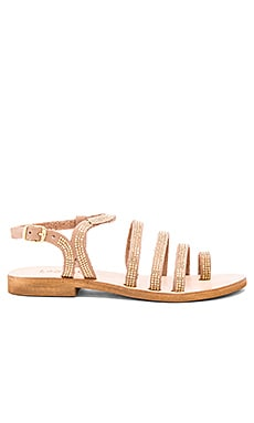 L*SPACE Sicily Sandal in Gold