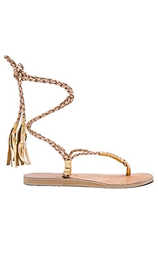 L*SPACE Gili Wrap Sandal in Sand