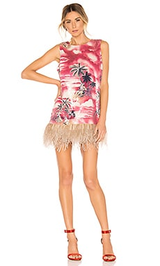 Night Shift Ostrich Feathers Dress Le Superbe $595 NEW ARRIVAL