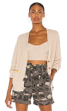 Beach To Bar Cropped Cardigan Le Superbe $237