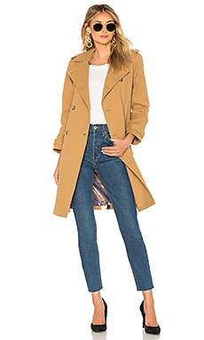 Belted Trench Coat Le Superbe $438