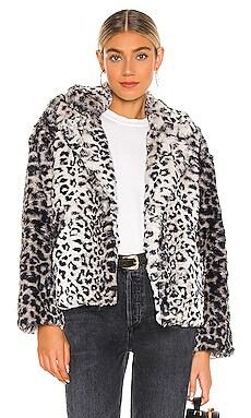 Fur Sure Leopard Faux Fur Jacket Le Superbe $575