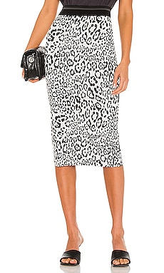 Leopard King Liza Skirt Le Superbe $245 NEW