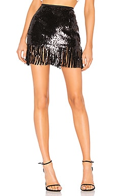 Speak Easier Shimmy Sequins Skirt Le Superbe $166
