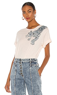 Painted Lil' Leopard Tee Le Superbe $135