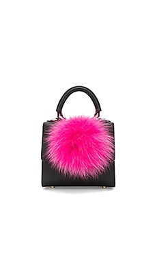 Micro Alex Bunny Bag in Black
