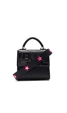 Mini Alex Widow Bag in Black