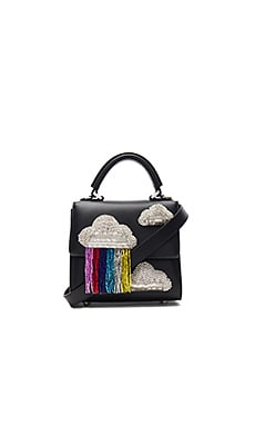 Micro Alex Cloud Satchel in Black
