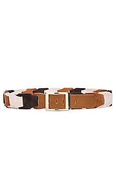 Lovestrength Loretta Suede Hip Belt in Multi Honey