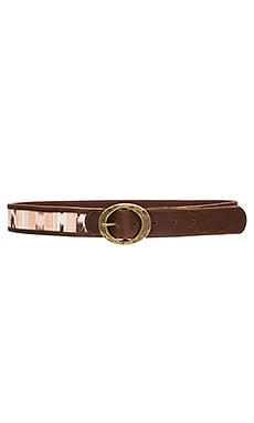 Lovestrength Tribe Hip Belt in Brown & Blush