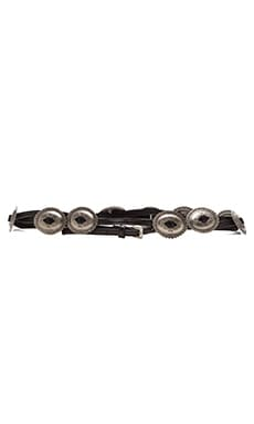 Lovestrength Sessile Belt in Black & Silver