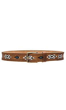 Lovestrength Nomad Belt in Tan & Antique Brass