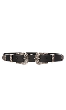 Lovestrength Scarlet Waist Belt in Black