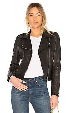 Kas Biker Jacket LTH JKT $595 BEST SELLER