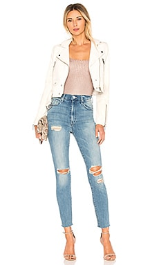 Lth Jkt Mya Cropped Biker Jacket Coupon