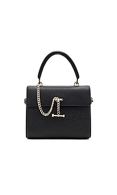 Paley Mini Satchel Bag in Ebony