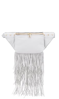Luana Italy Raquel Belt Bag in Bianco