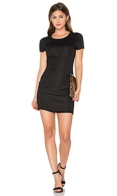 Anais Tee Dress in Black