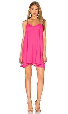 Tank Dress in Fuchsia