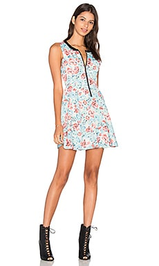 Lucca Couture Quinn Dress in Ocean Wash Floral
