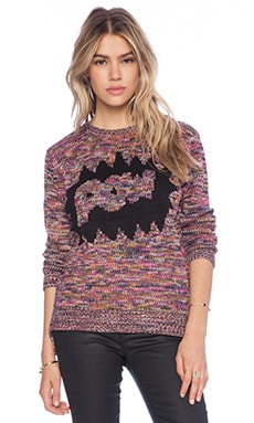 Lucca Couture Pow Sweater in Multi
