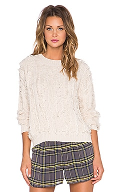 Lucca Couture Sweater in Ivory