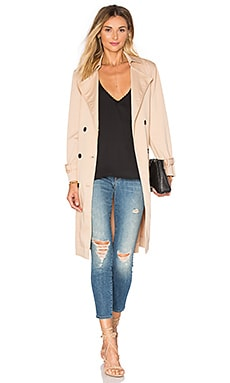 Lucca Couture Ali Trench Coat in Tan
