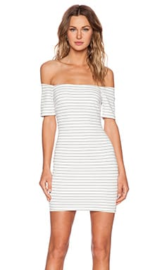 BETWEEN THE LINES BODYCON DRESS
