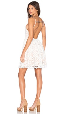 Lucy Paris x REVOLVE Gypsy Dress in White Lace