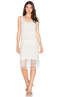 Lucy Paris Cami Dress in Pebble Lace